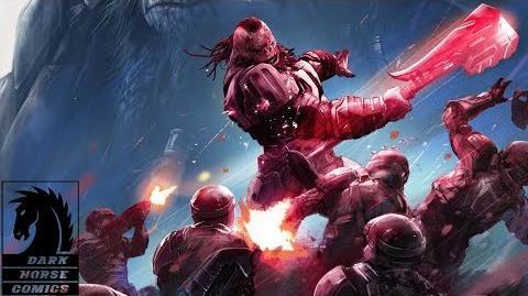 Halo Rise of Atriox Comic Mini-series Teaser