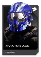 H5G REQ card Casque-Aviator Ace