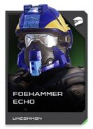 H5G REQ card Foehammer Echo-Casque