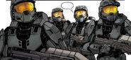 Los 4 spartans black