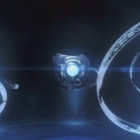 343 Guilty Spark in un terminale di Halo: CEA