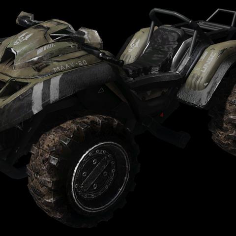 Eine Version des M274 Mongoose, welches während der Schlacht um Reach verwendet wurde.