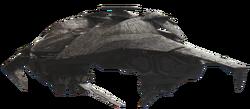 H4-ONI ProwlerShip-ScanRender