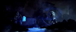 Tartarus golpea a Thel 'Vadam con el Puño de Rukt