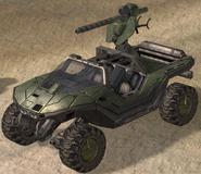 Warthog con Cañon de Aceleración Magnetica