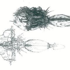 """接近最后的概念图,现在城市的特征""""蘑菇""""形态。"""