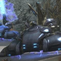 Due Wraith in Halo; Reach