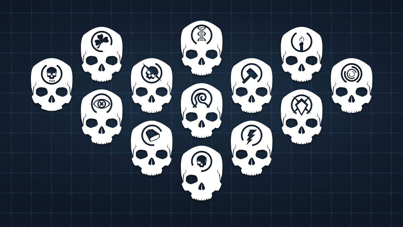 Halo 4 skulls Halo 4 Skulls