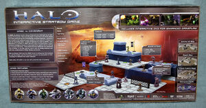 Halo - Interactive Strategy Game - Back View