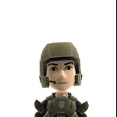 Marine-Rüstung für den XBOX Avatar (Auf dem Avatar- Marktplatz erhältlich)