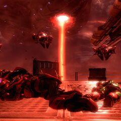 I corpi dell'ultima battaglia rimarrano come polvere