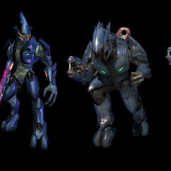Le differenze grafiche degli Elite,da Halo:Combat Evolved a Halo:Reach