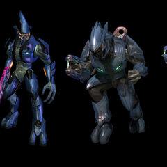 Le differenze grafiche degli Elite,da Halo:Combat Evolved a Halo:Reach