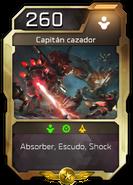 Blitz - Desterrados - Colonia - Unidad - Capitán cazador
