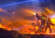 Halo Shadows of Reach Portada 1