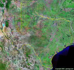 Texas-satellite-image