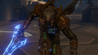 Sangheili Hereje Mayor Espada H2A
