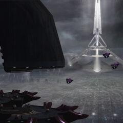 博爱之城的中央穹顶,先行者无畏舰的所在。