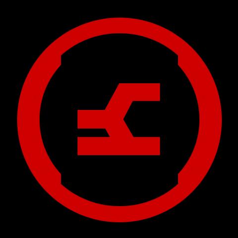 Alternativ Symbol vom Offensive Bias.