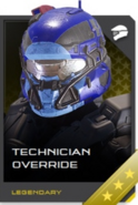 REQ Card - Technician Override