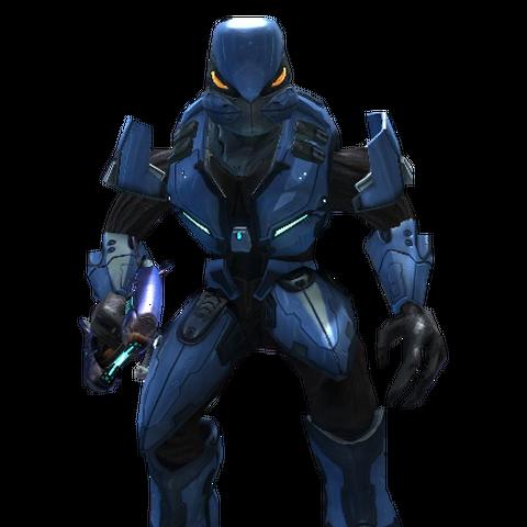 Ein Special Operations Sangheili in Halo 3.