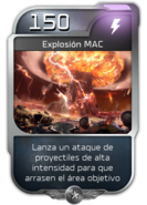 Blitz - UNSC - Isabel - Poder - Explosión MAC