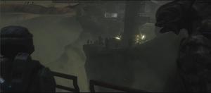 John-117 e l'Arbiter in Bloccare l'Invasione