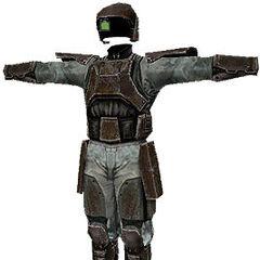 Armatura utilizzata dai Marines in Halo: Combat Evolved