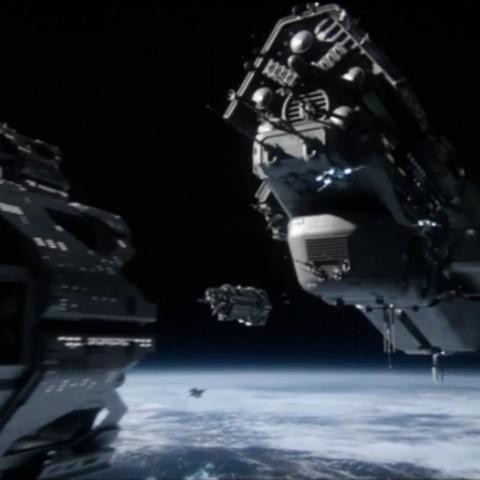 Il <b>Battlegroup Dakota</b> in orbita attorno la <a href=