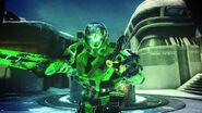 MJOLNIR EVA y Espada verde H5G