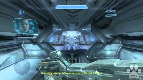 Halo 4 - easter eggs (huevos de pascua) Caboose en llamas