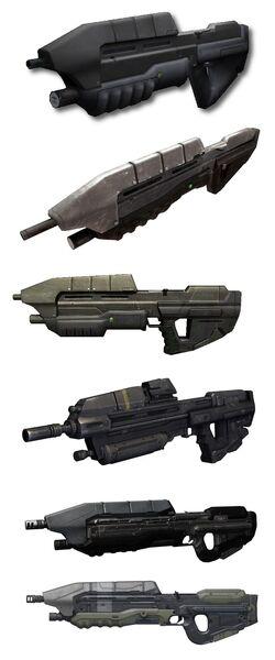 Assault Rifle Comparisons