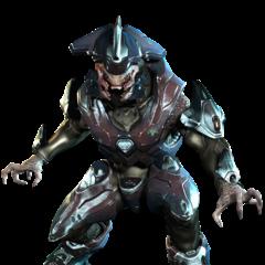 Un Elite Comandante in Halo 4