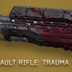 Das Sturmgewehr mit Trauma (TRM) Skin