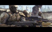 Marine Halo Wars Intro