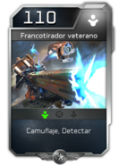 Blitz - UNSC - Comandante Jerome - Unidad - Francotirador veterano