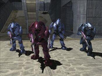 Gruppo Elite minori e maggiori Halo 3