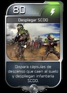Blitz - UNSC - Capitán Cutter - Poder - Desplegar SCDO