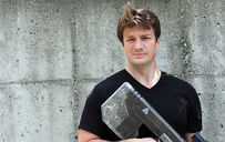 Nathan Fillion, Buck's voice actor.