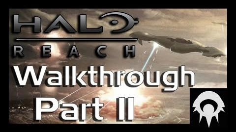 Halo- Reach Walkthrough - Part 11 - The Pillar of Autumn Part 1 - No Commentary
