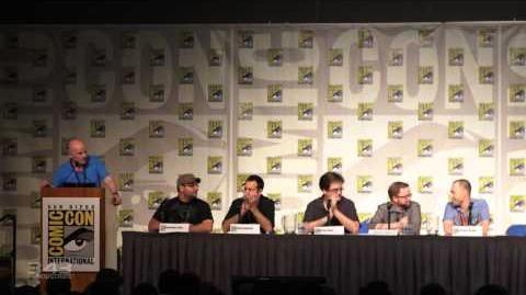 DerPete/343 Fiction Panel auf der San Diego Comic-Con 2012