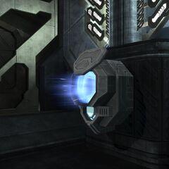 Un Lanciatore di Sentinelle attivato