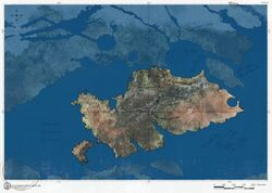 Viery territorium verbesserte karte