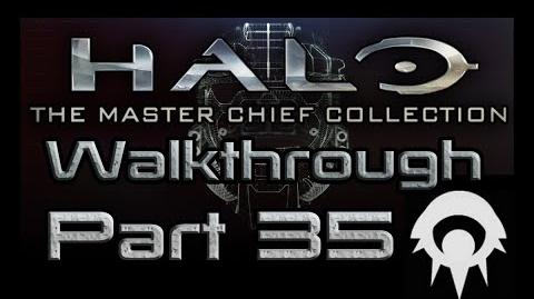 Halo- The Master Chief Collection Walkthrough - Part 35 - Halo