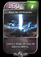 Blitz - Desterrados - Maestro de Nave - Poder - Rayo de vitrificación