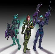 Forerunner Suits Female