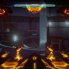 Die Ansicht aus dem Zielfernrohr in Halo 5 Beta Multiplayer