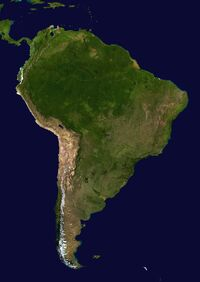 South America satellite