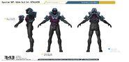 Halo 4 Stalker armor concept art