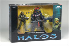 Fred Meyer Halo Figures Package